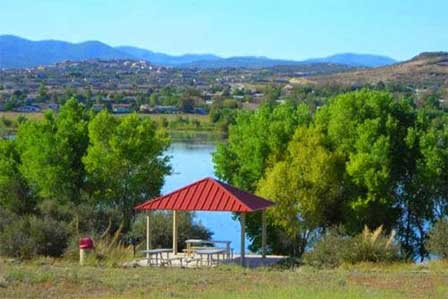 Picture of Willow Lake Park in Prescott AZ