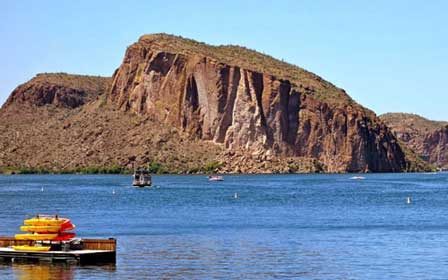Photo of Saguaro Lake in Phoenix By Kevin Dooley