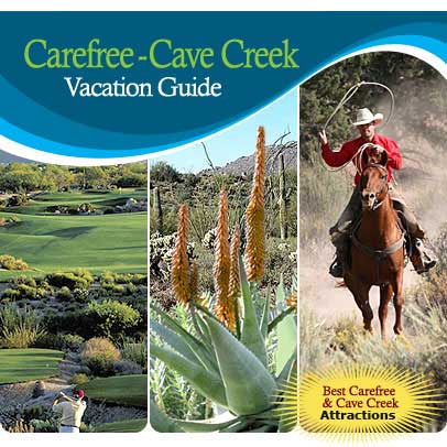 Vacation Guide For Carefree & Cave Creek Arizona